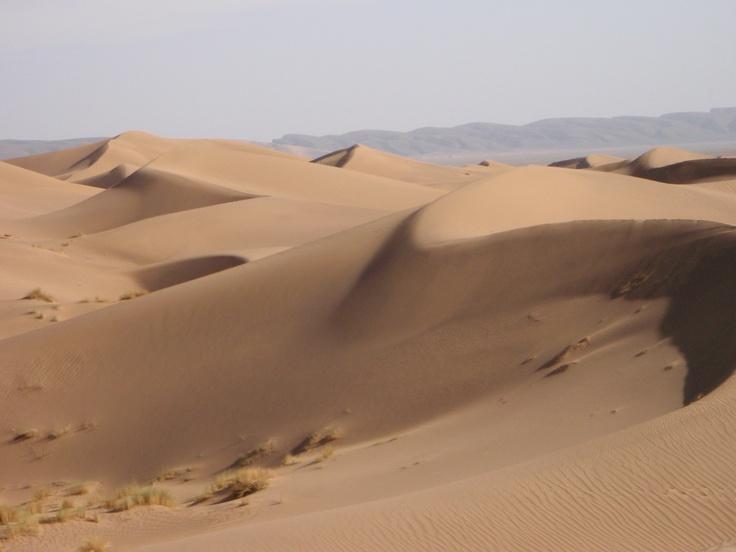 Sand dunes, Sahara Desert Trek, 2011