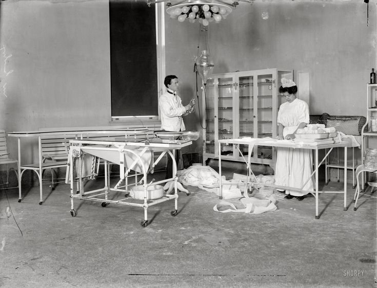 Shorpy Historical Photo Archive :: Lying-In Hospital: 1908