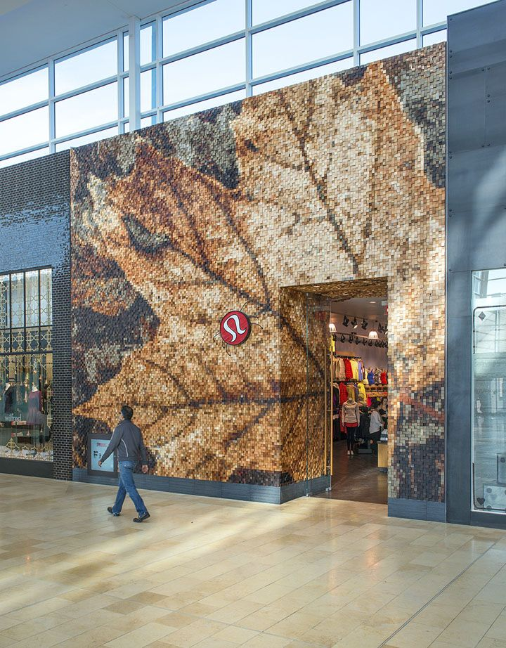 Lululemon Yorkdale store by Quadrangle Architects & Brothers Dressler, Toronto