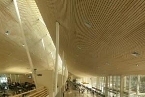 Aeropuerto El Tepual - Puerto Montt, Chile  Arquitectos Jorge Iglesias - Leopoldo Prat  http://aoa.cl/oficina/iglesis-prat-arquitectos-ltda/