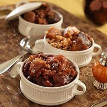 """Easy Kosher Jewish Cholent Recipe: Lazy Man's Cholent from Leah Schapira's """"Fresh And Easy Kosher Cooking."""""""