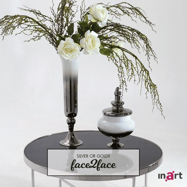 Two beauties, one choice! Silver or gold? #inart #Face2Face