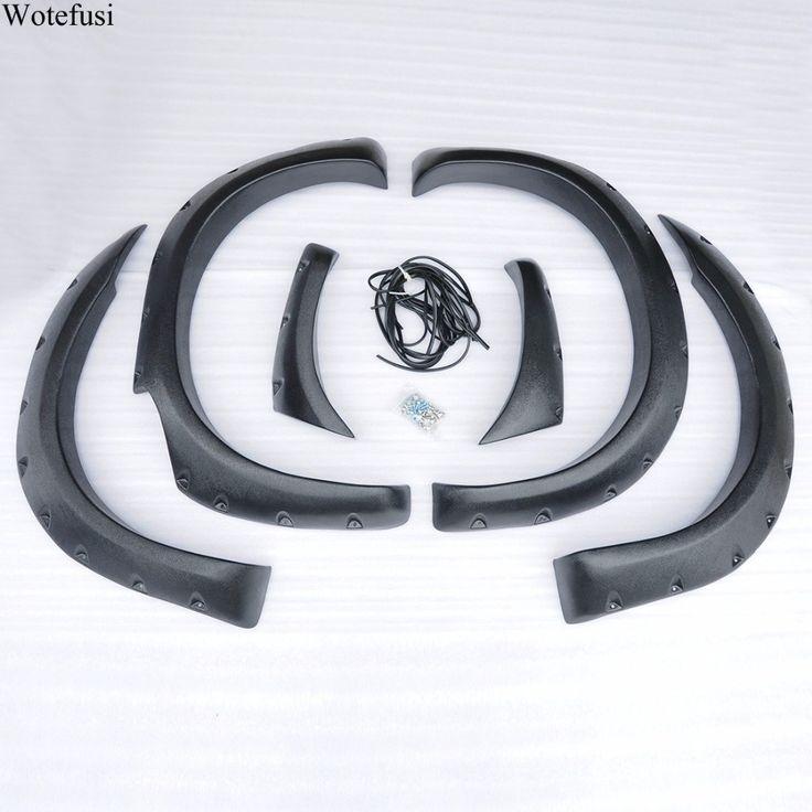 Wotefusi Screws Mount Type Matt Black Mud Flaps Fender Protectors Set Kit For Ford Ranger T6 4-Door  2012-2014 2013 [QPA302] #Affiliate
