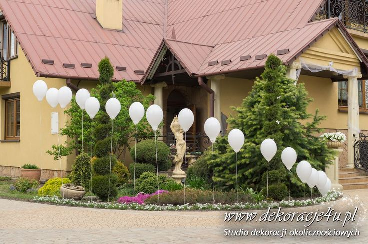 Znalezione obrazy dla zapytania dekoracje ślubne domu