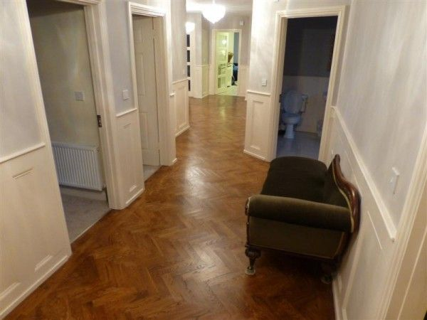 Walnut Parquet with Victorian Panelling in a Dublin Residence - MM Parquet Flooring & Carpentry Service, Ireland