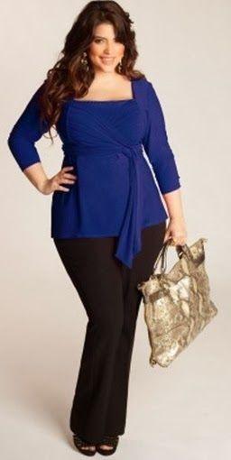 blusas de vestir elegantes grandes - Buscar con Google