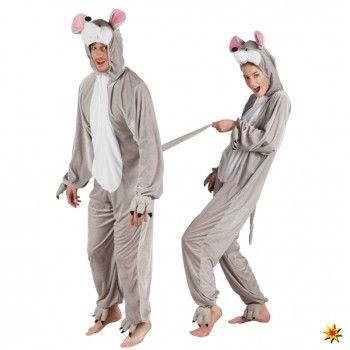 Kostüm graue Maus, Overall Mäuse kaufen