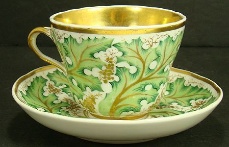 ROYAL BERLIN CUP AND SAUCER