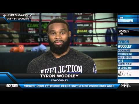 Tyron Woodley Standing His Ground on NOT Fighting Hector Lombard - YouTube