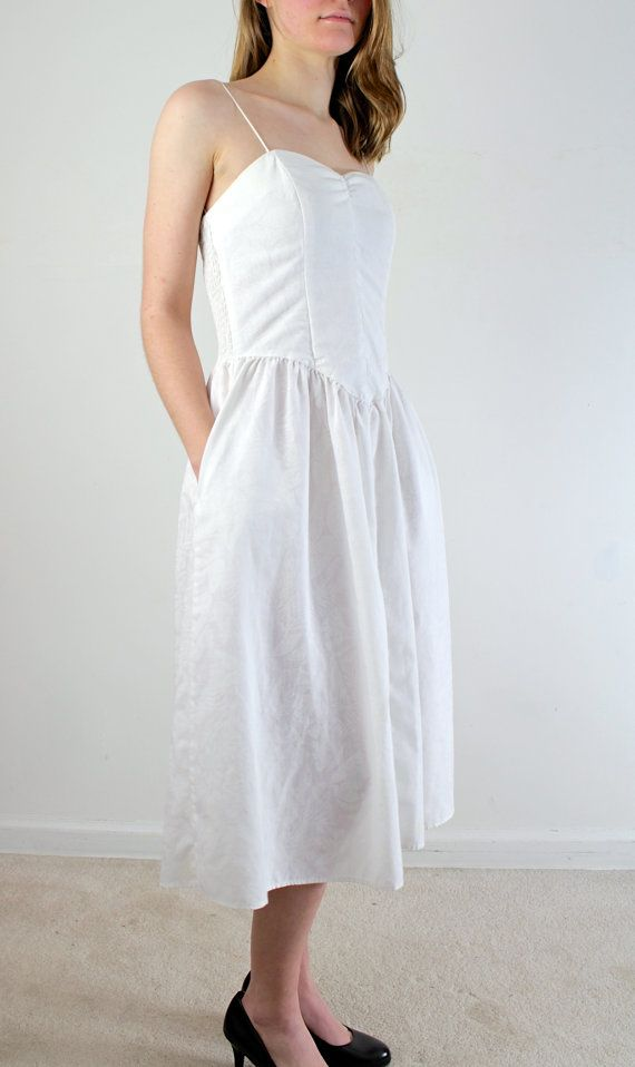 Casual White Cotton Wedding Dresses - Mother Of The Bride Dresses