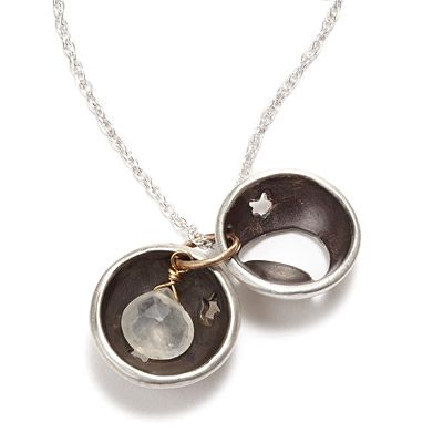 Look what I found at UncommonGoods: you are my moon and stars locket... for $128 #uncommongoods