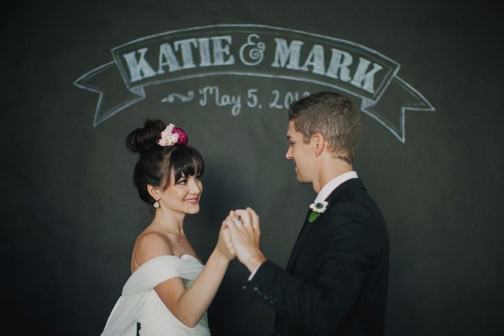 Fall in Love with Creative Chalkboard Wedding Ideas