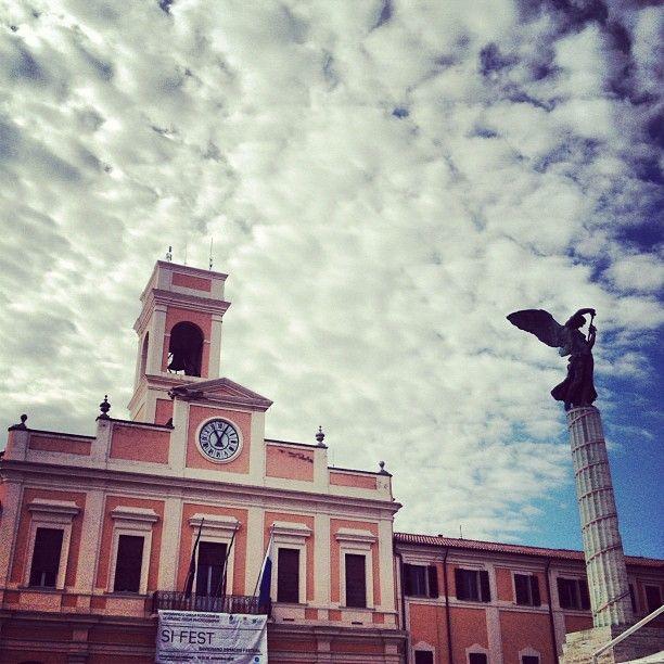 Piazza Borghesi, Savignano #sifest2012 - Instagram by igersfc