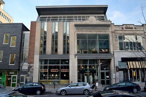 Pavillon de Mode de l'Université du Québec à Montréal par Rayside   Labossière. Photo  : Jérôme Laferrière.