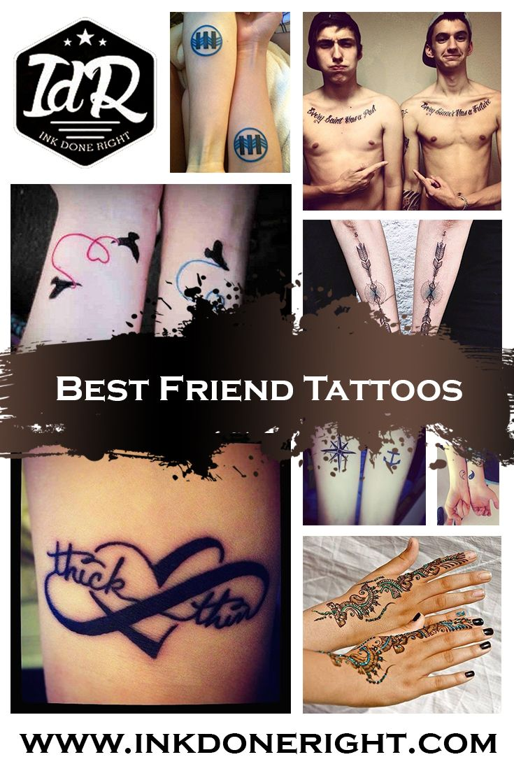 101 staggering best friend tattoos inkdoneright - 101 Best Friend Tattoos Inkdoneright Com There Are Several Different Kinds Of Best Friend