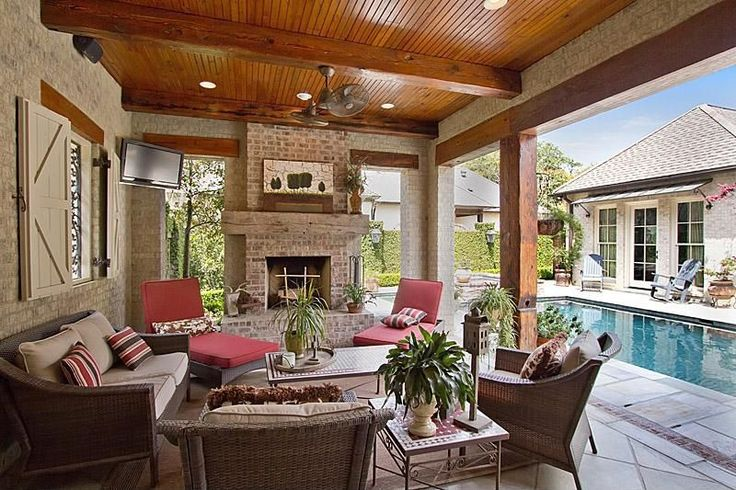 Best 20+ Covered back porches ideas on Pinterest | Back ... on Large Back Porch Ideas id=20617