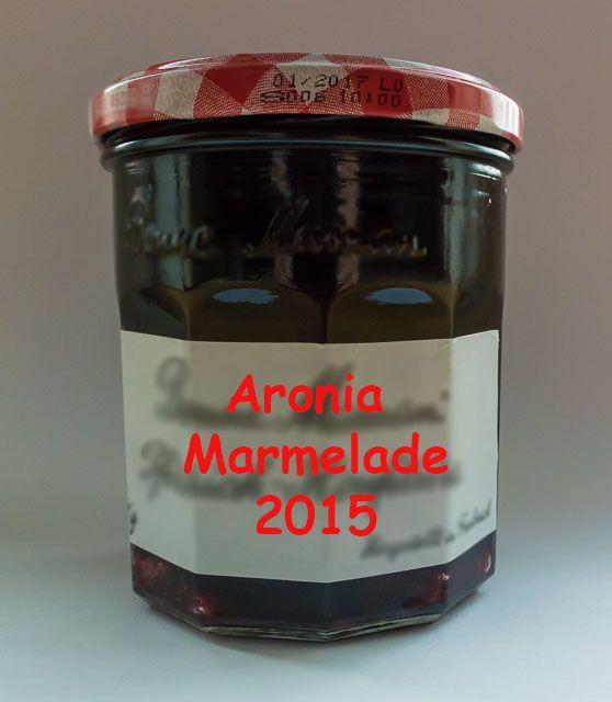 Wie kocht man #Aronia #Marmelade
