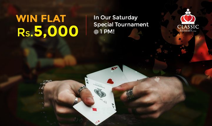 Exclusively for Free players at 1 PM.  Play and win Rs.5000 @ ClassicRummy  Hurry....  Limited seats available....      #rummy #rummytournaments #onlinerummy #tournaments #freeplayers #playrummy