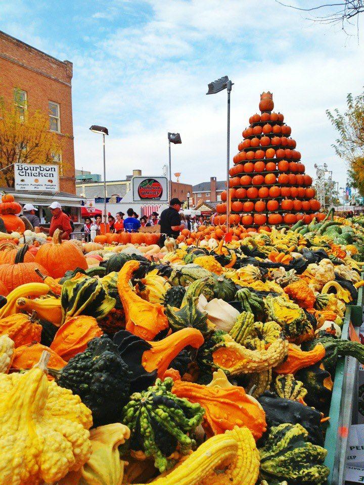 The Circleville Pumpkin Show! Oct. 16-20, 2012 - The King Pumpkin is 1,315 pounds! #pumpkin