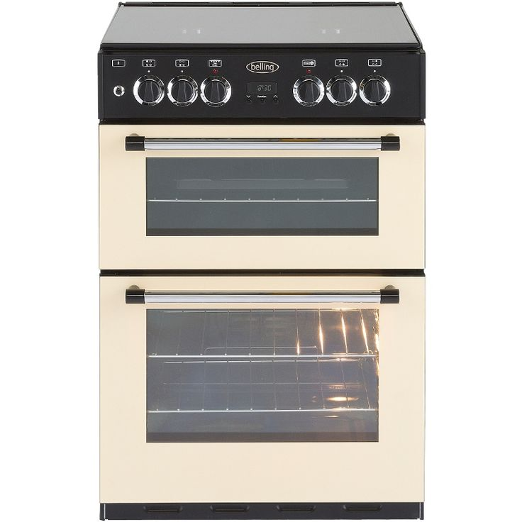 Buy Belling Classic 60DF Dual Fuel Cooker (444443747) - Cream | Marks Electrical