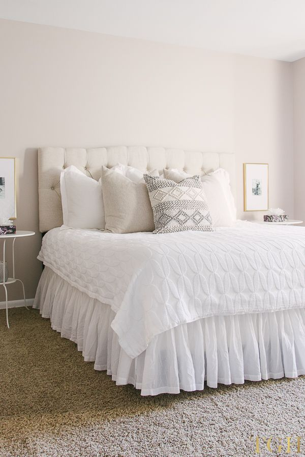 Neutral Guest Bedroom Ideas Neutral Guest Bedroom Decor Guest Bedroom Makeover Bedroom Makeover Before And After Guest Bedroom Makeover Guest Bedroom Decor Neutral spare bedroom ideas