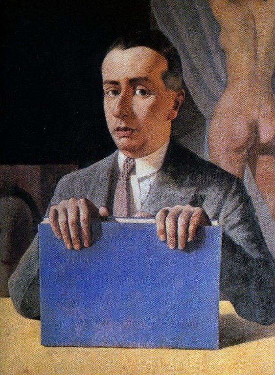 Portrait of the Musician Alfredo Casella by Felice Casorati (Italian 1883-1963)