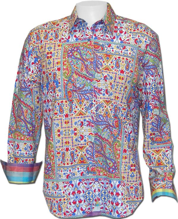 Robert Graham Groovin Sport Shirt
