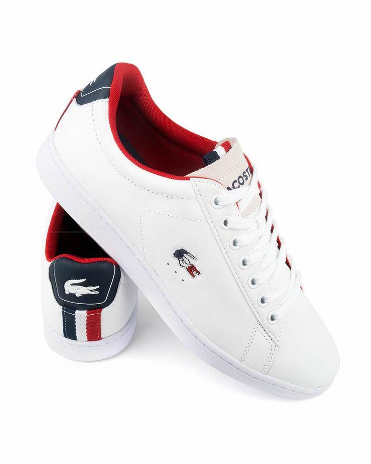 Zapatillas LACOSTE ® Carnaby Evo ✶ Blanca | ENVÍO GRATIS