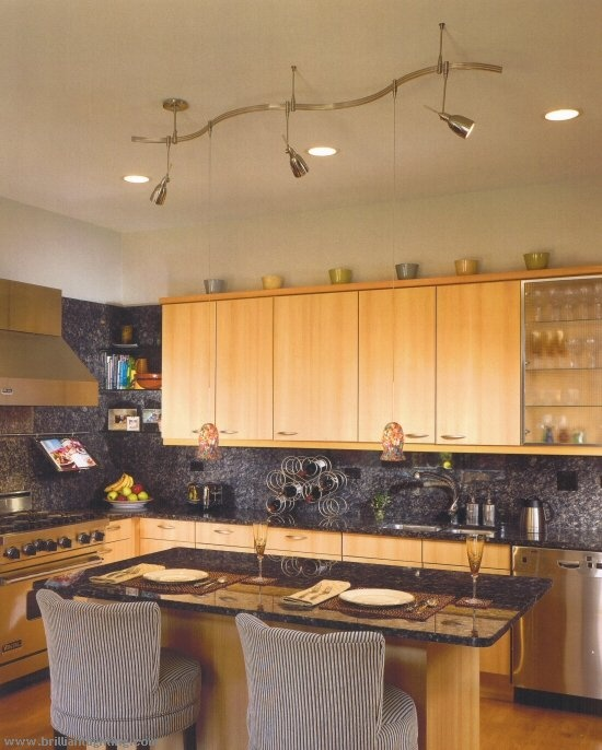 funky track lighting. Kitchen Track Lighting Ideas Occasionally, The Power Source May Not Be In Location Where You Want To Place Lighting. Funky