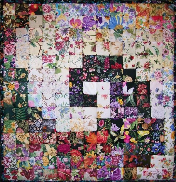 What is a Watercolor Quilt?  Traditional quilts use different colors and shapes to make patterns. Watercolor quilts use the intensity of the...