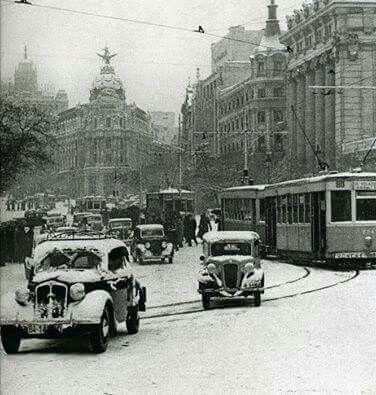 Calle Alcala años 40