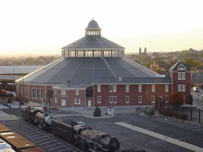 Baltimore and Ohio Railroad Museum, Baltimore Maryland.