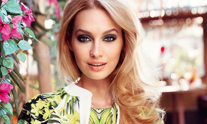 Макияж глаз в изумрудной гамме - Шаг за шагом - Как сделать - beauty Edit | Oriflame