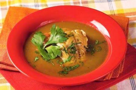 SOPAS DEL PERU: CHUPIN DE TRAMBOYO Y HONGOS / TRAMBOYO (FISH) CHUP...