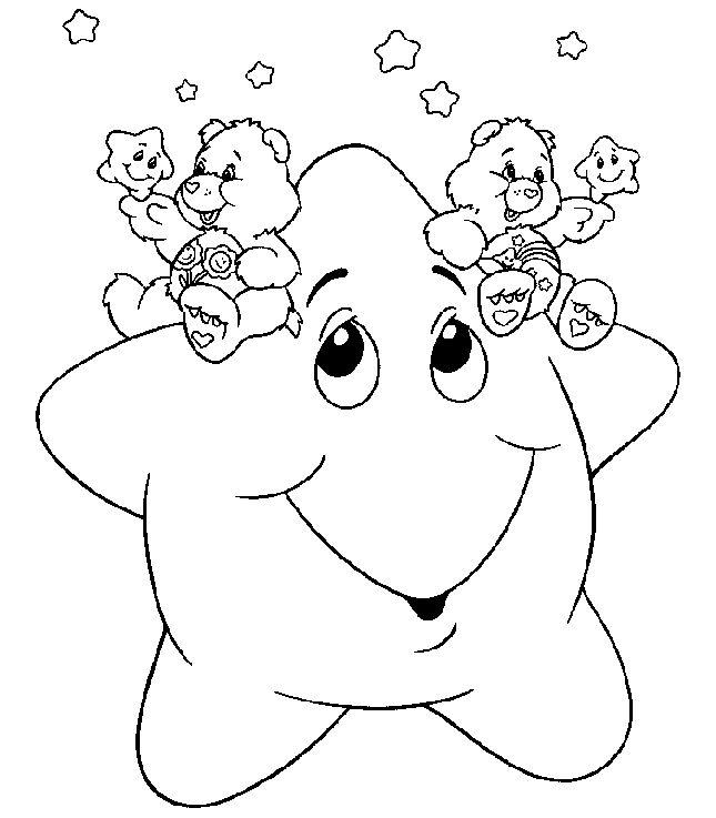 wish bear coloring pages - photo#37