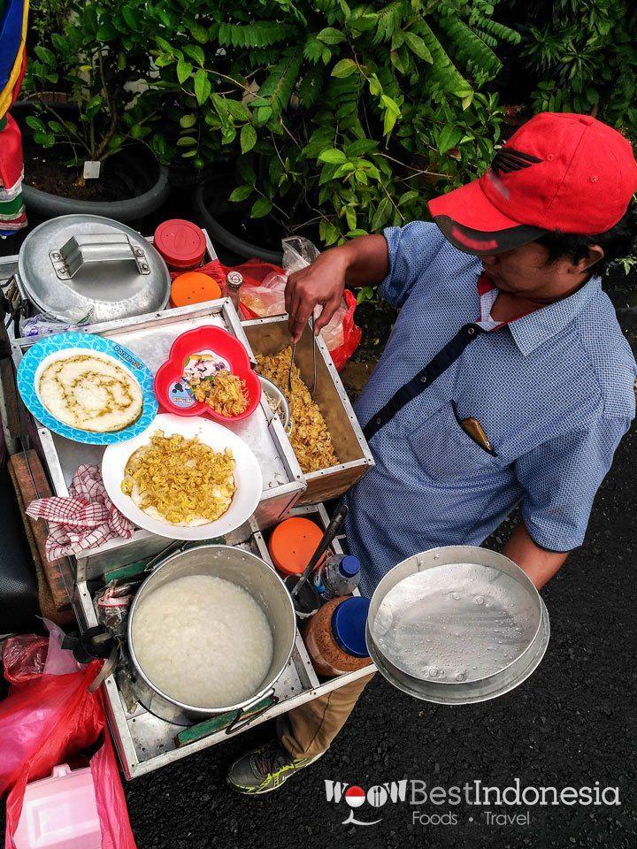 Bubur Ayam Best Indonesian Dishes Jakarta #Indonesia #Food