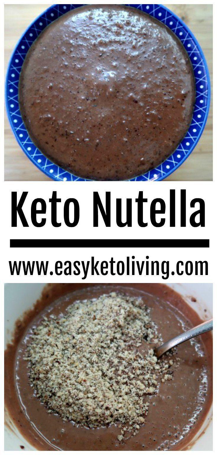 Keto Nutella Recipe – Simple Homemade Low Carb & Sugar Free Hazelnut Spread – Keto