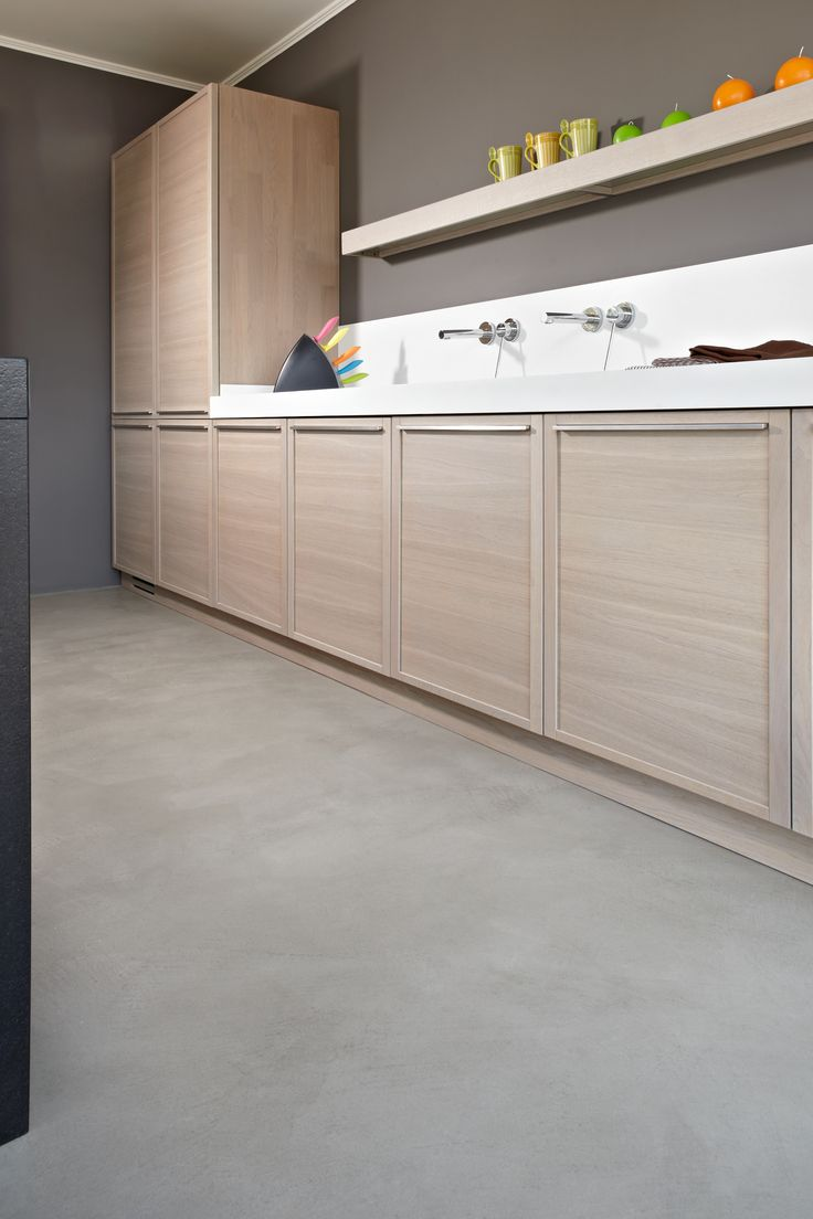 #microtopping floor in the #kitchen  http://www.idealwork.com/Micro-Topping-Features-and-benefits.html