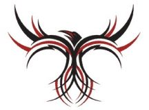 Tribal Phoenix Tattoo @Trisha Moffat show little brother for Band
