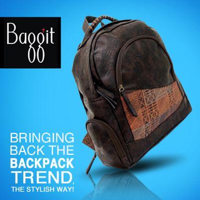 Get your favorite at www.baggit.com