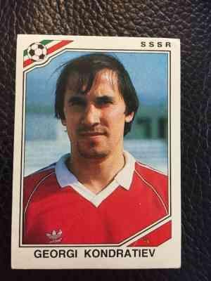 Image result for mexico 86 panini ussr