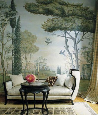 69 Best Images About Trompe L 39 Oeil Wallpaper On Pinterest