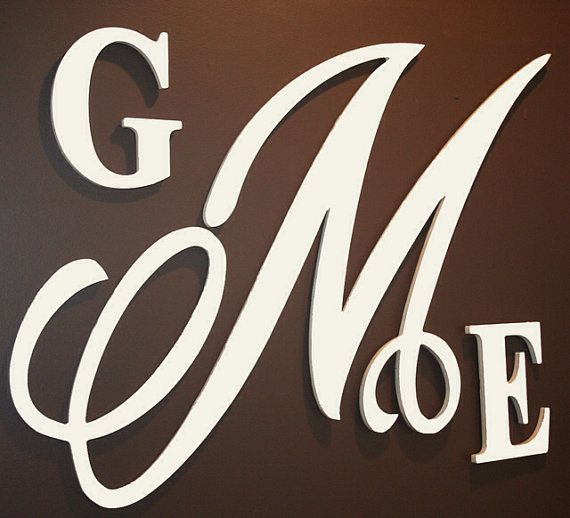 monogram wooden letters best 25 wooden monogram letters ideas on wood 23687 | c5223ce26713d85155d4c7eaac650c35 monogram wall letters painted letters