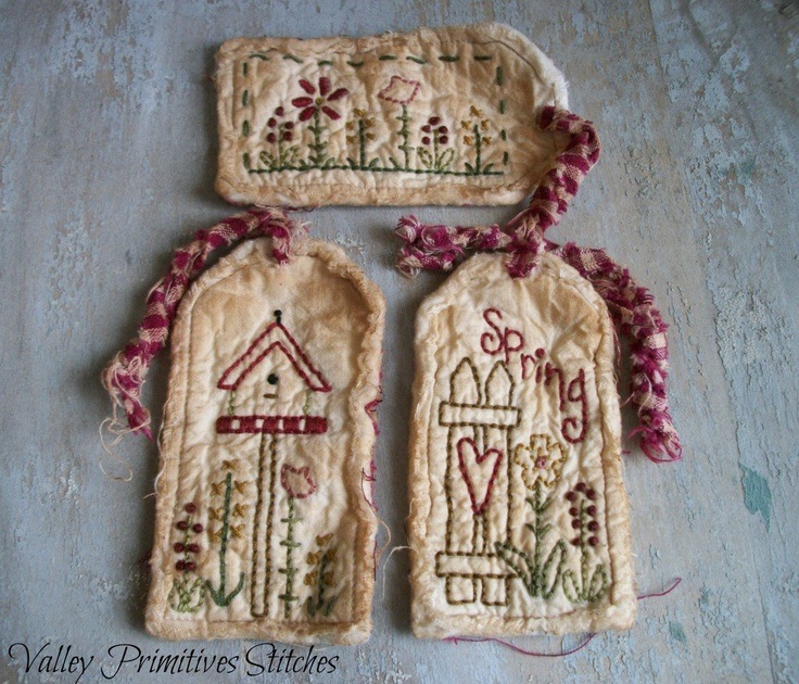 Primitive Spring Hang Tags