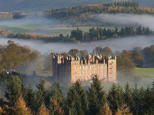 Drumlanrig Castle, Dumfries and Galloway, Scotland - www.castlesandmanorhouses.com