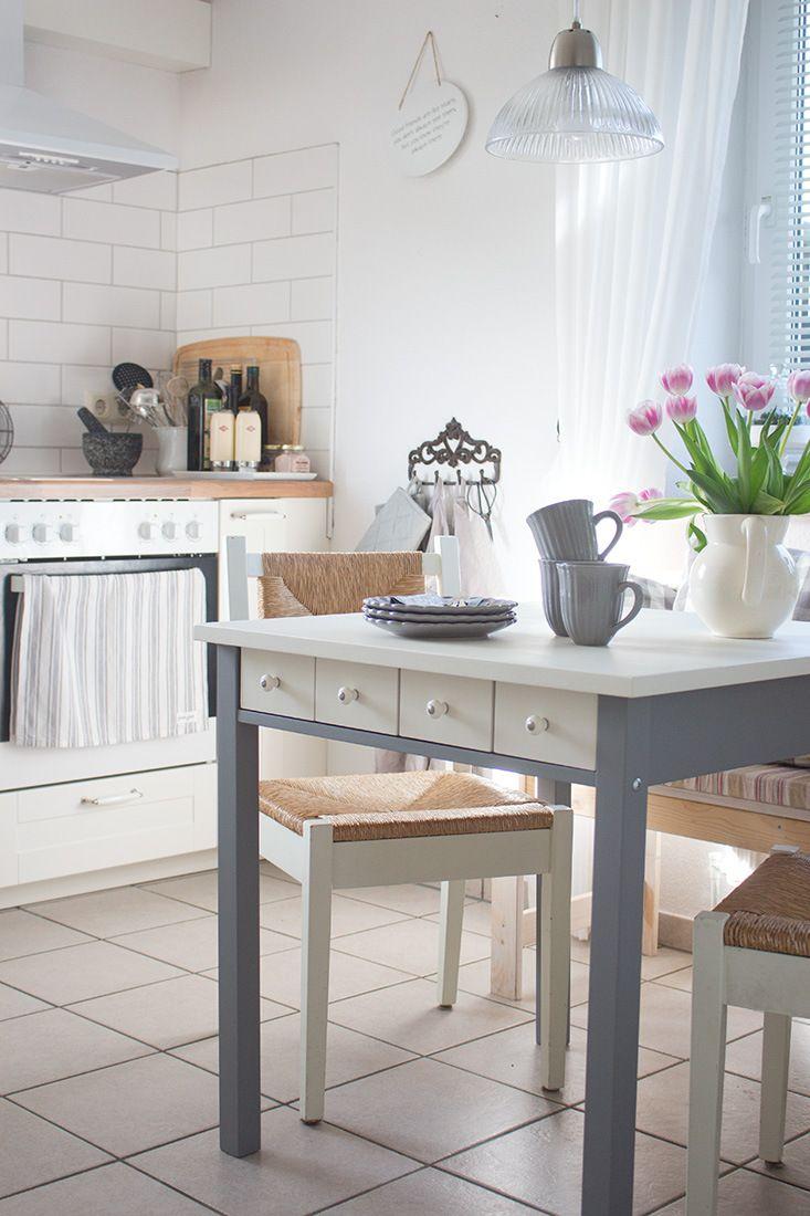 der neue alte k chentisch ein paar impressionen aus der. Black Bedroom Furniture Sets. Home Design Ideas