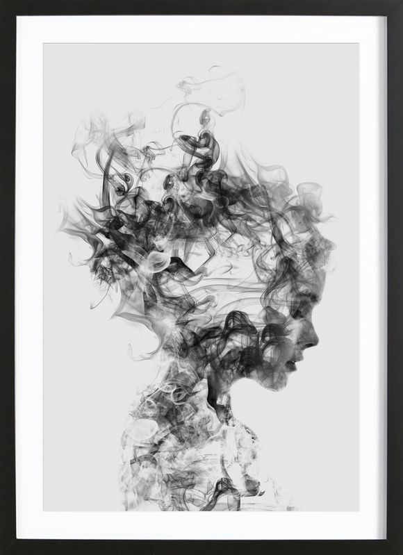 Dissolve Me - Dániel Taylor - Affiche premium encadrée