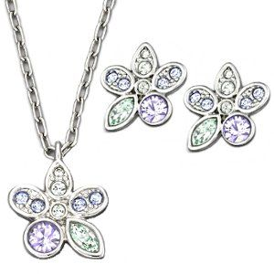 Swarovski Crystal Tuberose Floral Jewelry Set SWAROVSKI. $100.00