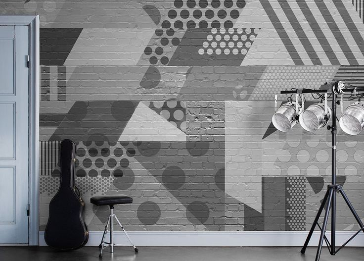 Glimmer And Gold Wall Mural From Mr Perswall By Alexandra Nildén In The  Wallpaper Mural Collection Street Art. Customize And Order Wall Murals  Online. Part 59