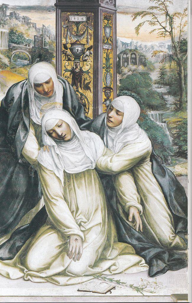 Scene from the life of St. Catherine, Ecstasy, Church of San Domenico, Siena, 1525 Il Sodoma (1477 – February 14, 1549?) Giovanni Antonio Bazzi